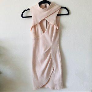 Luxxel mock neck dress